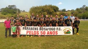 Equipe aspirante do São José Sport Botafogo, campão da Copa 50 anos.