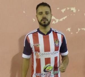 Marco Faria, autor do gol do Cooffe