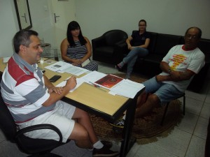 Iury, Chimbica, Ana Paula e Luciana