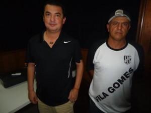 Na foto de 2016, Carlinhos Moreira (Dal Bon) e Jonas (Água Fria-Vila Gomes), que novamente terão suas equipes premiadas 3m 2017