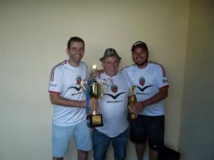 Na foto, Pitoco, Cidão e Leandro
