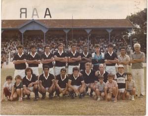 Fazenda São Geraldo, anos 80, no Torneio Sérgio Ribeiro