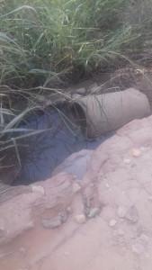 Passagem de Água Estrada Lelo Palhavan