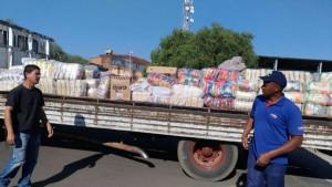 Toda essa contribuição foi para o Hospital São Vicente: 8 mil kg